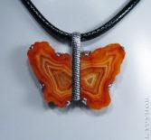 Кулон-бабочка